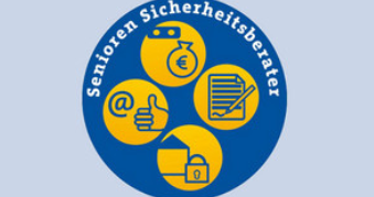 Logo der Seniorensicherheit in Leipzig.
